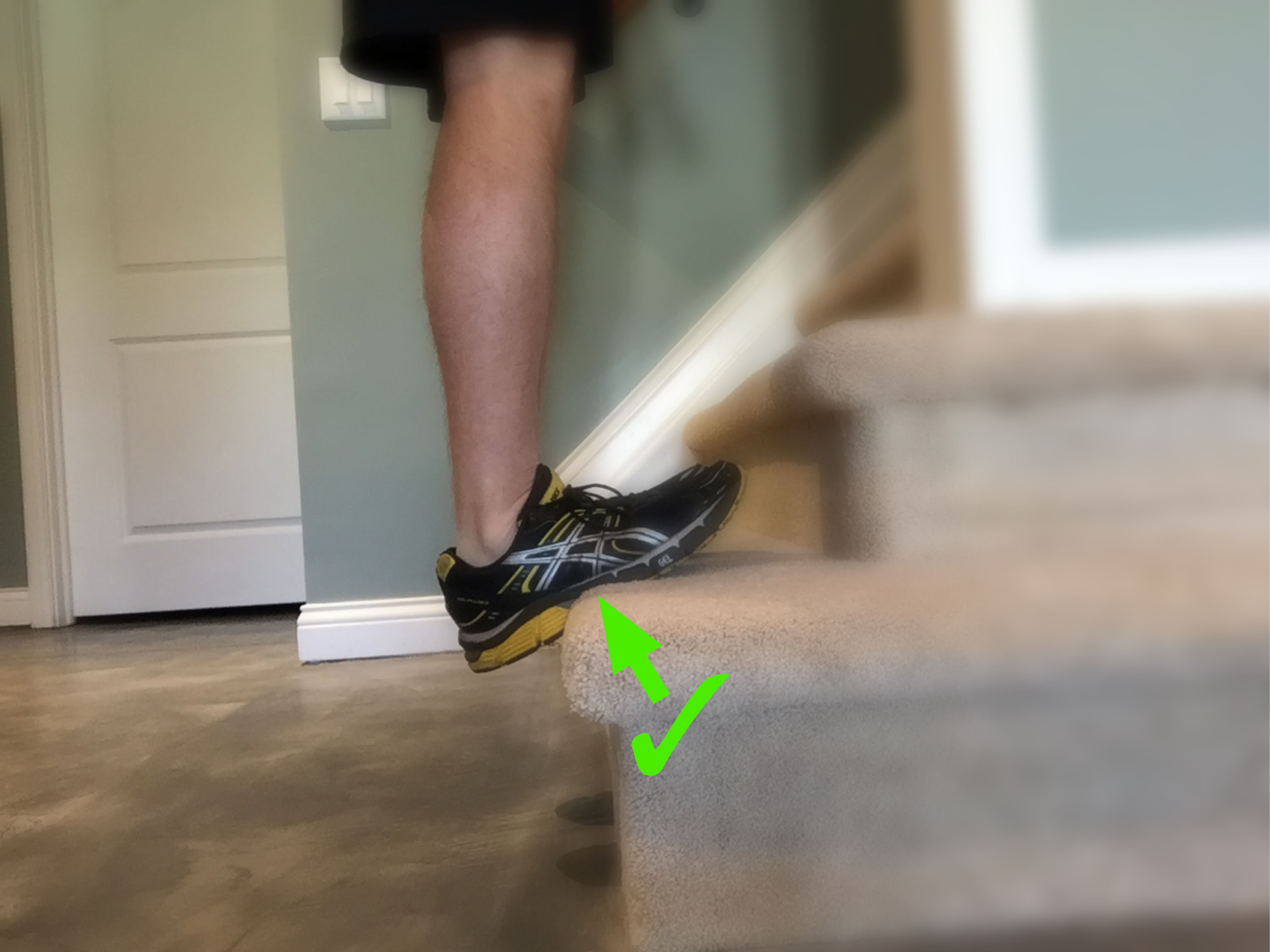Calf Stretching: It's the AO Way or the Highway (There Are No Back Roads)